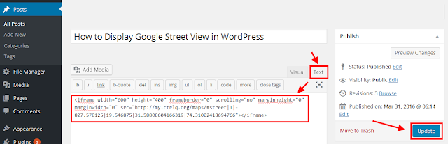 How to Display Google Street View in WordPress