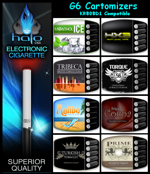 Halo is to E-Cigs what Apple is to Tablets!