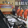 Lima Komplotan Pelaku Curanmor  Dibekuk Tim Gabungan Satreskrim Polres Magelang dan Polres Semarang