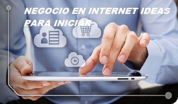NEGOCIO EN INTERNET IDEAS PARA INICIAR