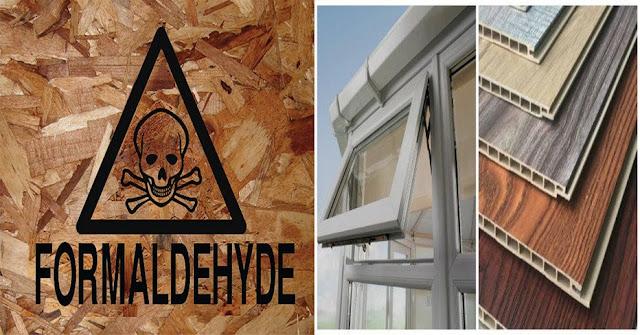 Chất Formaldehyde trong gỗ công nghiệp