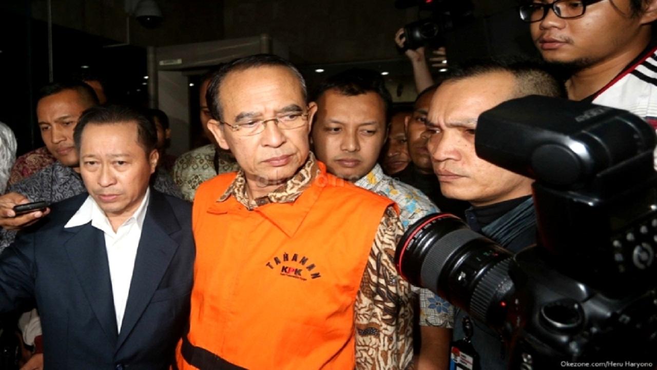 Inilah Daftar 5 Ketum Parpol yang Terjerat Kasus Korupsi
