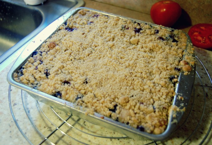 Lemon-Blueberry Cheesecake Bars | Organized Mess