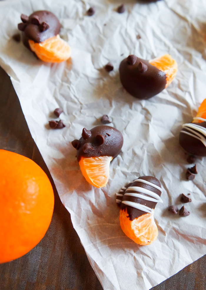 how to make Chocolate-Covered Clementines | bakeat350.net