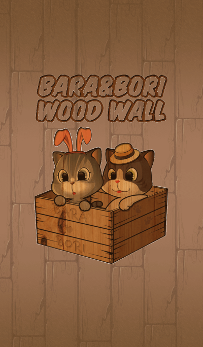 Bara & Bori wood wall