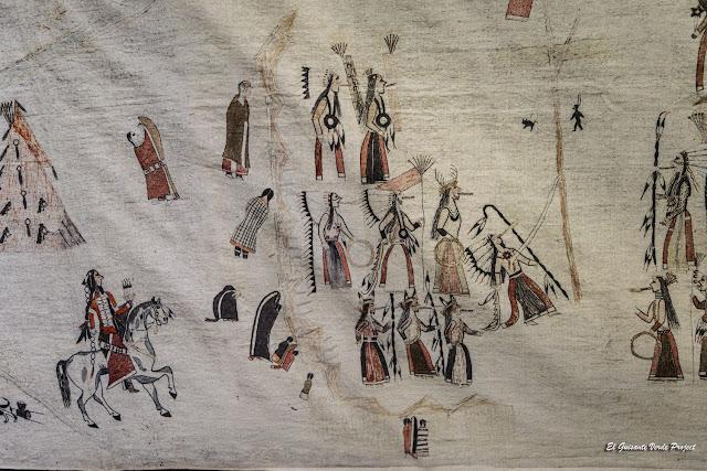 Tipi decorado, Akta Lakota Museum - Chamberlain, Dakota del Sur