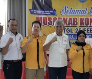 Musorkab Koni Labuhanbatu Digelar, Fery Wijaya Terpilih Secara Aklamasi