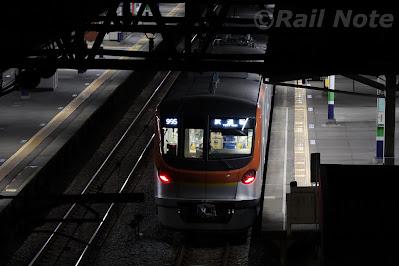 東京メトロ17000系東上線内深夜試運転