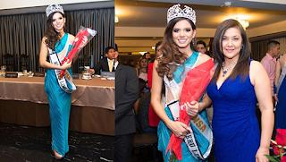 Jimena Echevarria es Miss Perú Lima Sur 2020