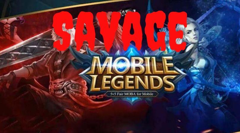 Arti savage dalam mobile legend
