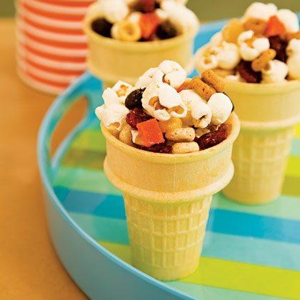 Snack Cones Recipe