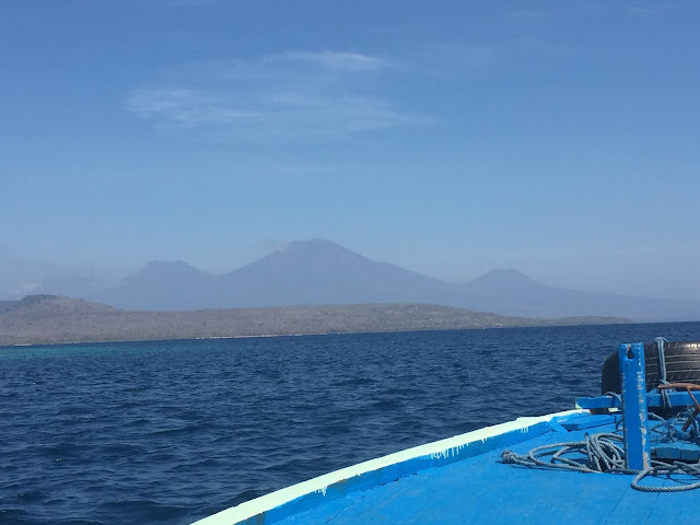 Snorkelling boat trip to Menjangan Island, Bali, Indonesia