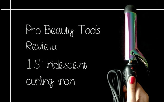 Pro Beauty Tools curling iron review