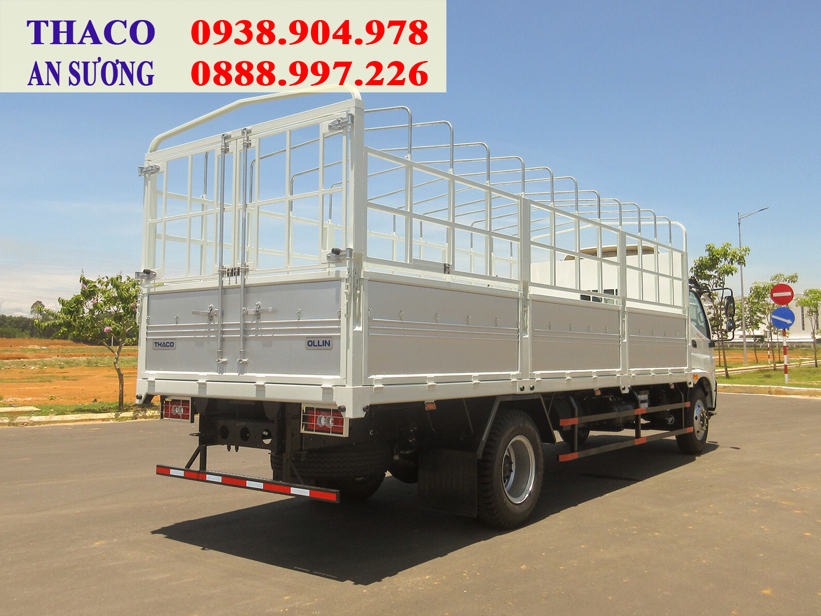 Xe tải Thaco OLLIN 900 tải trọng 9 tấn, thùng dài 6.9 mét