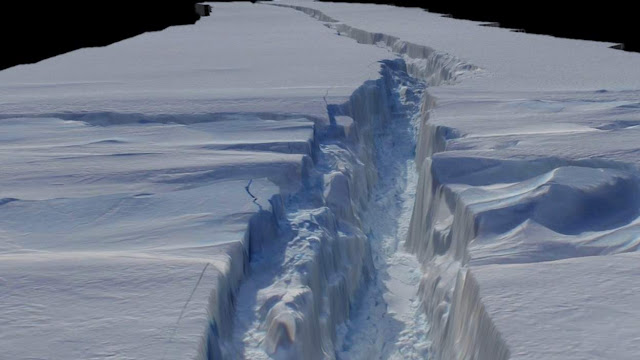It was thought that a gap in the Transantarctic Mountains could provide a route for ice to escape from the east of the continent to the west