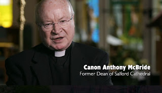 Canon Anthony McBride, Former Dean of Salford Cathedral