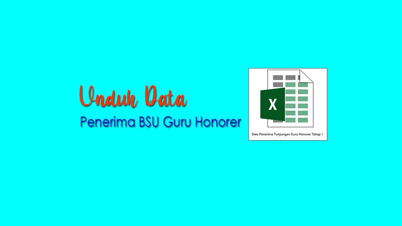 Untuk mengecek nama Anda dalam file unduh Data Calon Penerima BSU Guru Honorer Tahap 1 tersebut harus mengunduhnya terlebih dahulu, kemudian cari nama Anda dengan memencet tombol Ctrl F berbarengan.