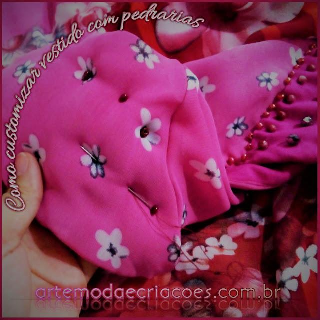 Como Customizar Vestidos com Pedrarias