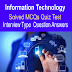 Information Technology MCQs Quiz Test