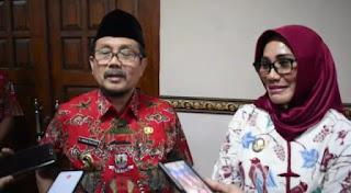 Wawali Cirebon Sowan Ke Plt Bupati Cirebon. Ini Yang Dibahas