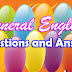 General English - Questions & Answers - 1