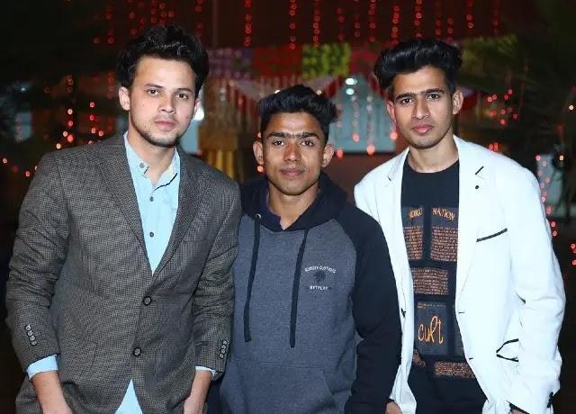 Wasim, Nazim, Zayn round2hell three best friends