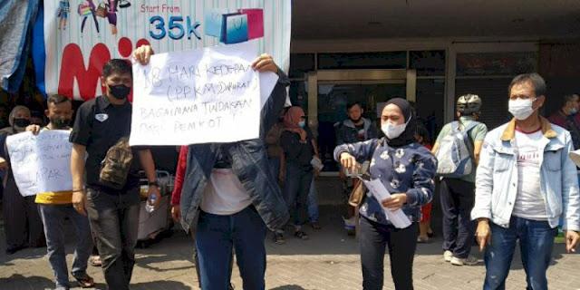 Tolak PPKM Darurat, Pedagang ITC Kota Bandung: Kami Mau Makan Apa?