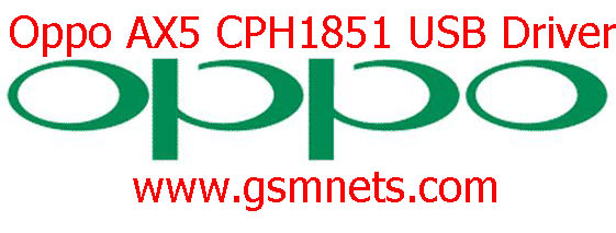 Oppo AX5 CPH1851 USB Driver Download