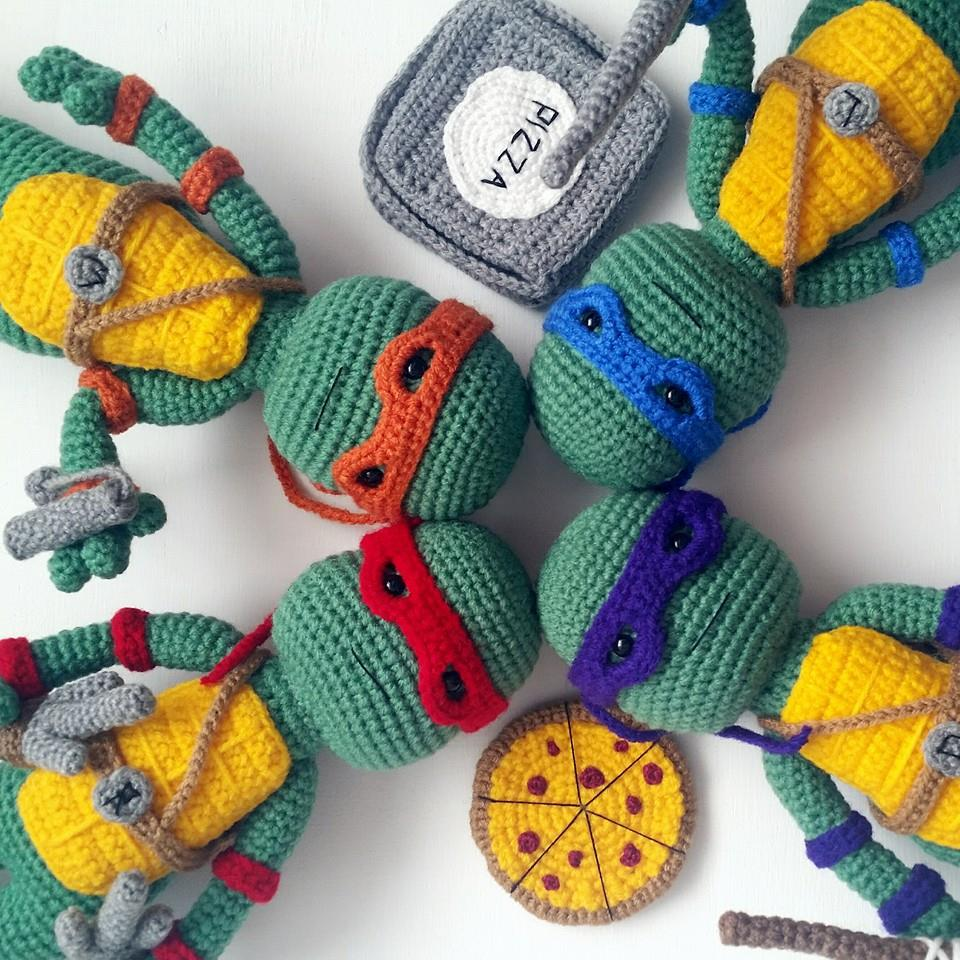 Amigurumi Ninja Turtle : A[mi]dorable Crochet: Teenage Mutant Ninja Turtle Pattern