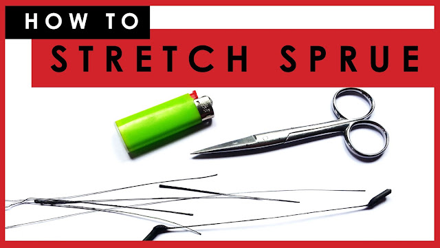 how to stretch sprue for plastic scale models