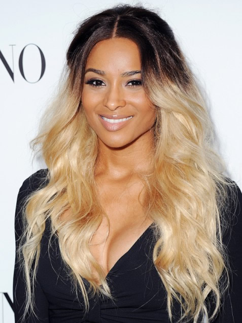 Although Kudos To Ciara S Hair Stylist For Getting It So Blonde Nonetheless This Is More Of A Grown Out Roots Look Rather Than Ombre