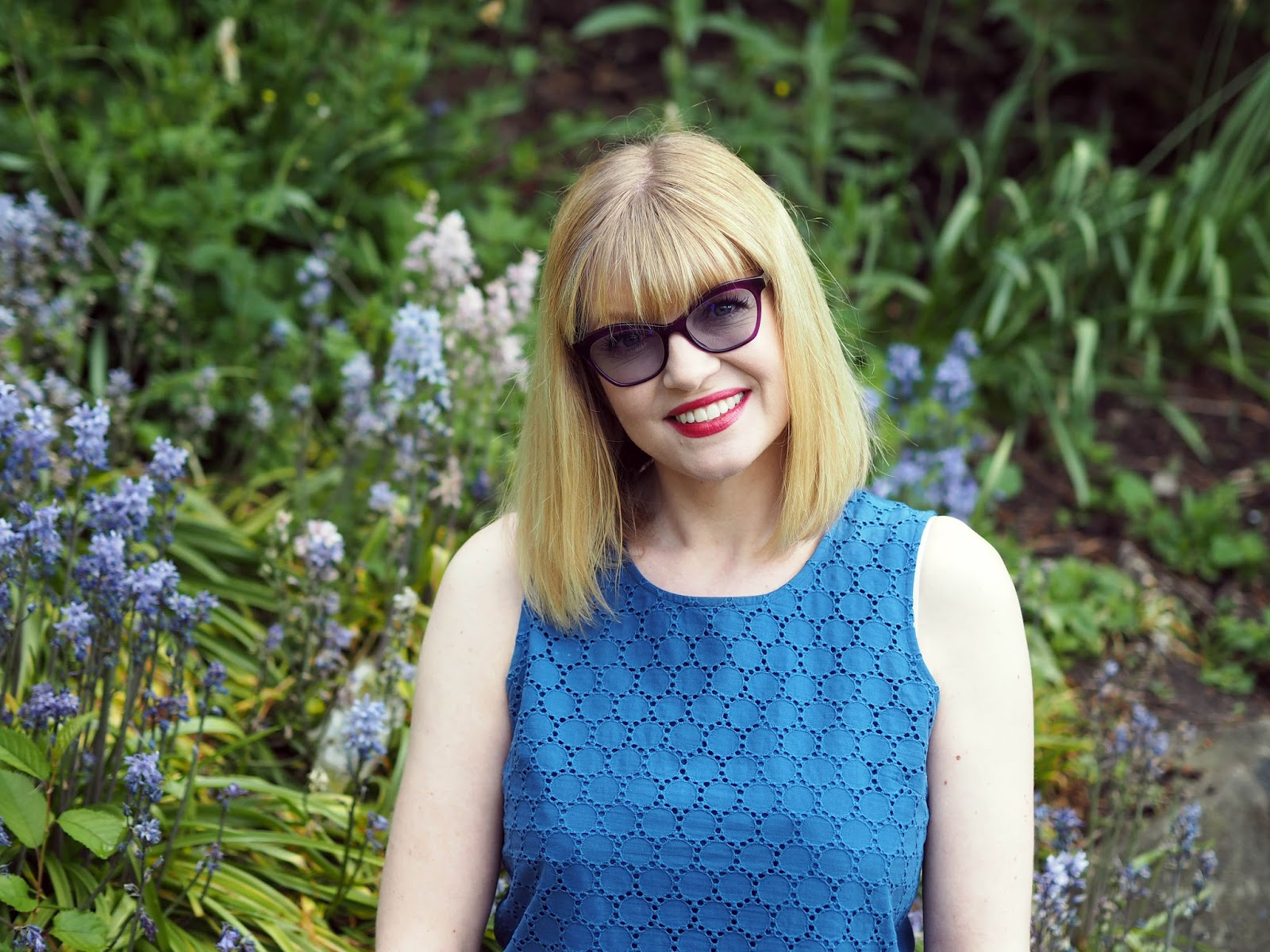 What-Lizzy-Loves-wearing-purple-Caroline-Abram-frames-Style-Colours-photochromic-lsunglasses-lenses-sapphire-blue