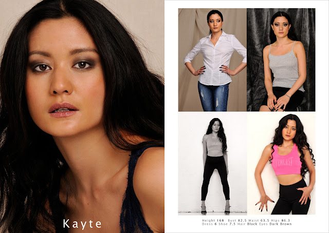 Kayte Asian Model - Sydney Model Agency  Portfolio Photoshoot And Comp Card - Photography by Kent Johnson