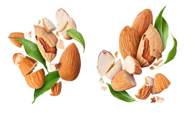 Grab a handful of almonds