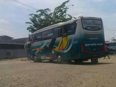 Foto Bus Garuda Mas Cinta Damai