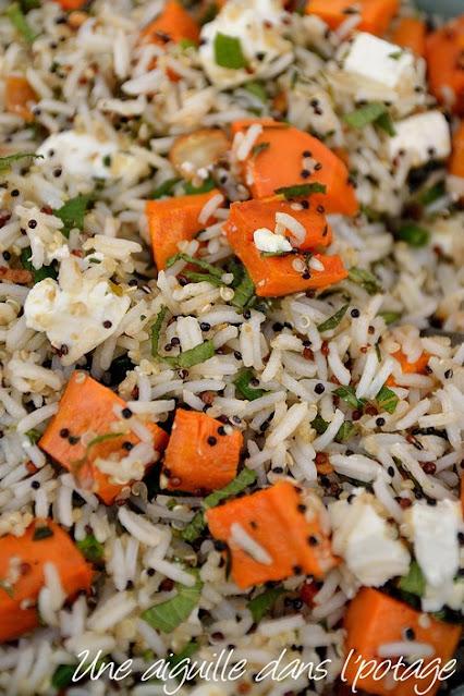 sadade-riz-quinoa-citron noir-iran-Ottolenghi-patate douce