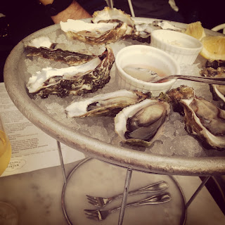 Oysters at the Walrus and Carpenter in Seattle