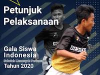 Download Juknis Gala Siswa Indonesia (GSI) SMP Tahun 2020