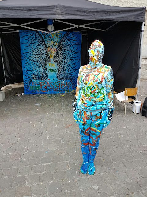 Ben Heine Art - Body Painting Abstract Art - Be Marolles - Live Performance - Bruxelles 2017