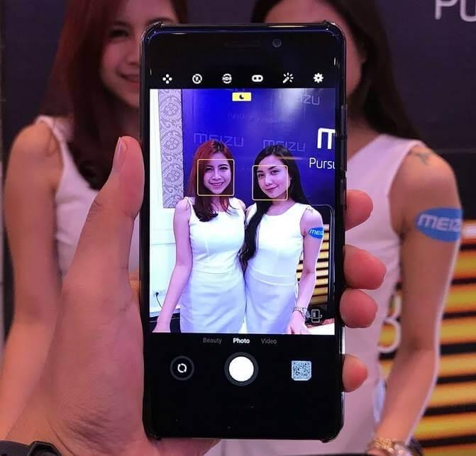 Meizu Pro 7 Rear Camera Interface