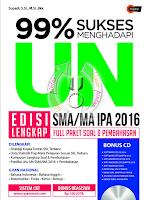 99% SUKSES Menghadapi UN SMA 2016 + CD