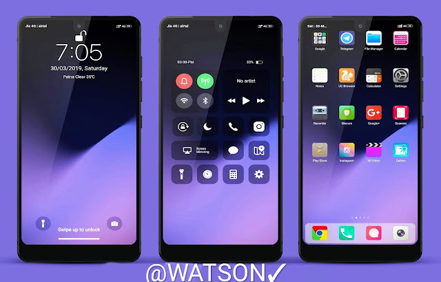 iOS Dark Style V10 Theme Download For Xiaomi Phones