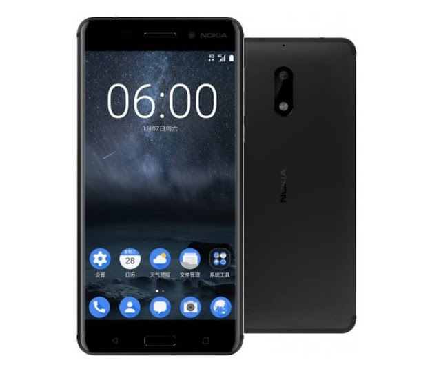 First Nokia Nougat Android Smartphone (Nokia 6) Specification And Price