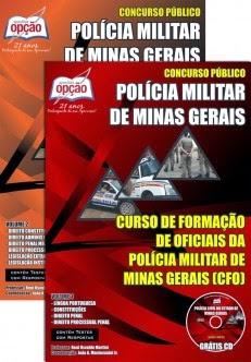 Apostila Policia Militar MG Curso Formação de Oficiais - CFO PM MG 2014