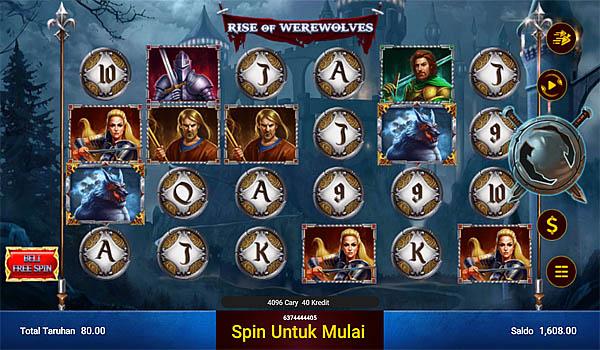 Main Gratis Slot Indonesia - Rise of Werewolves Spadegaming