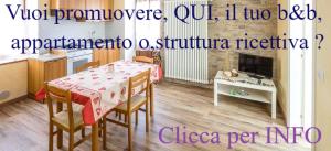 Clicca QUI se hai una casa vacanze,b&b o, altra struttura ricettiva.