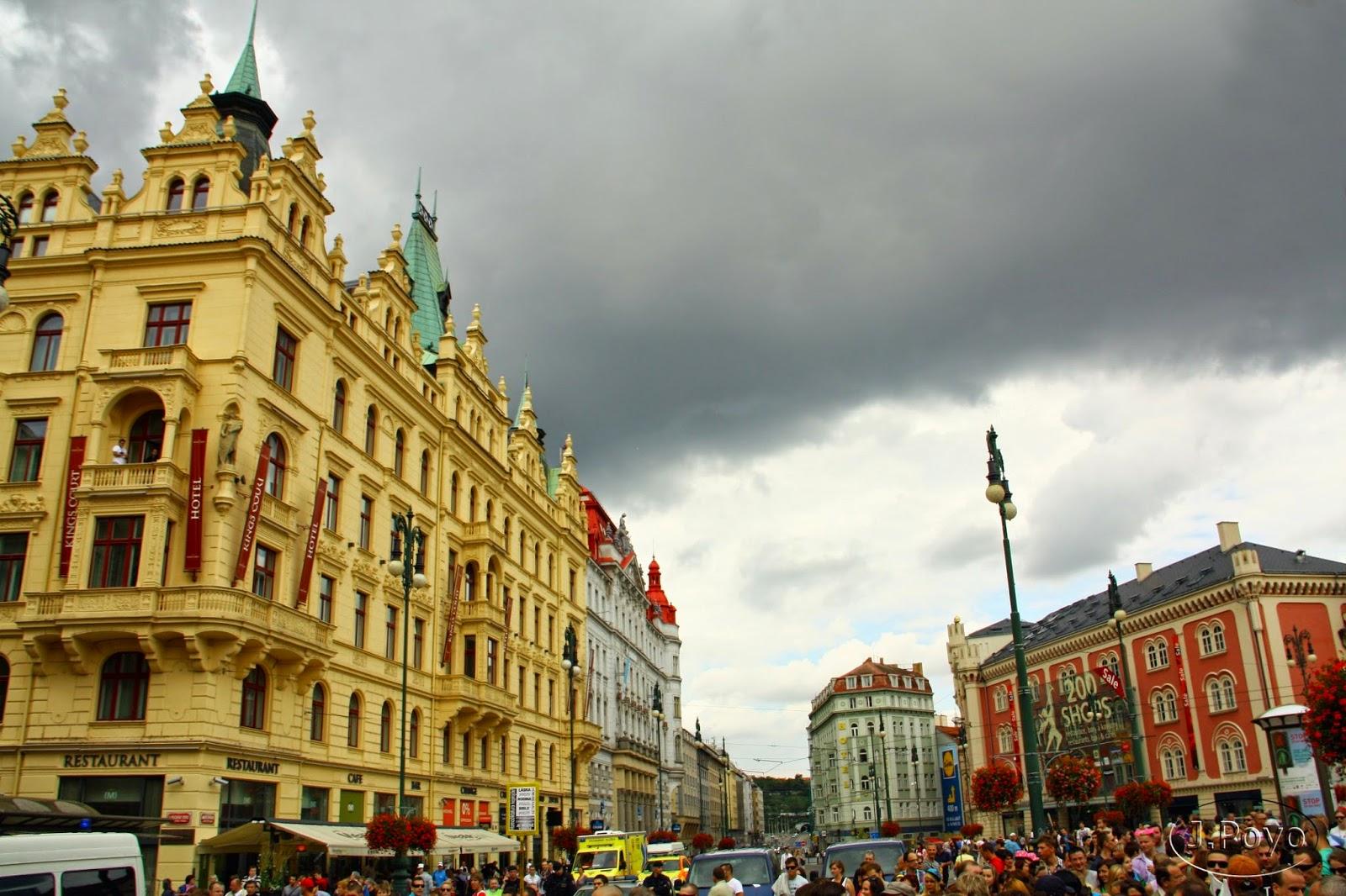 Plaza de la República de Praga