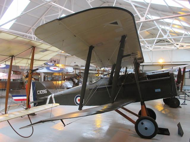 1/144 Shuttleworth diecast metal aircraft miniature RAF SE5a