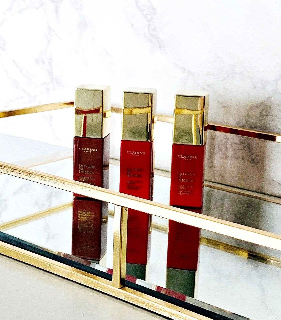Review & Swatches: Clarins Lip Comfort Oil Intense