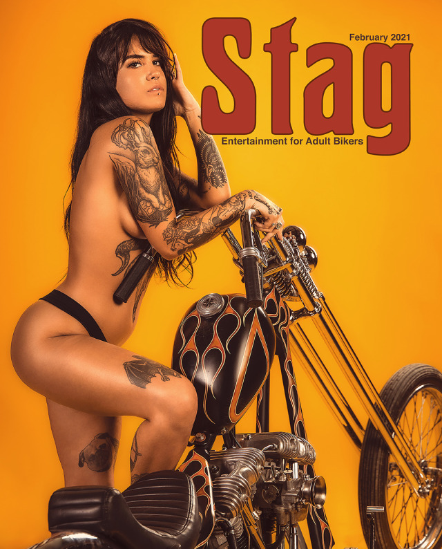 Stag Magazine Issue 13 February 2021 featuring Rachel Lou